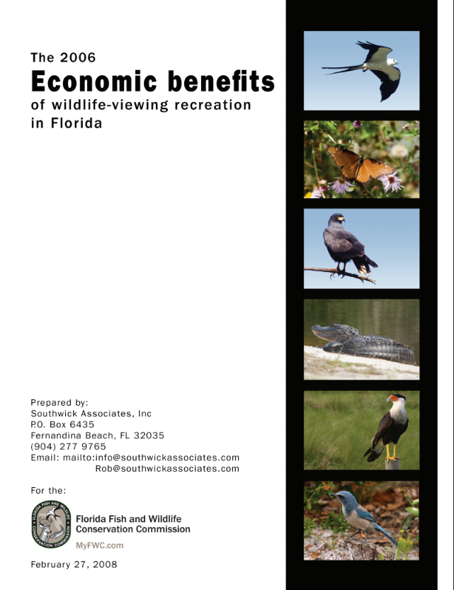 Florida - Economic Contributions of Wildlife Watching
