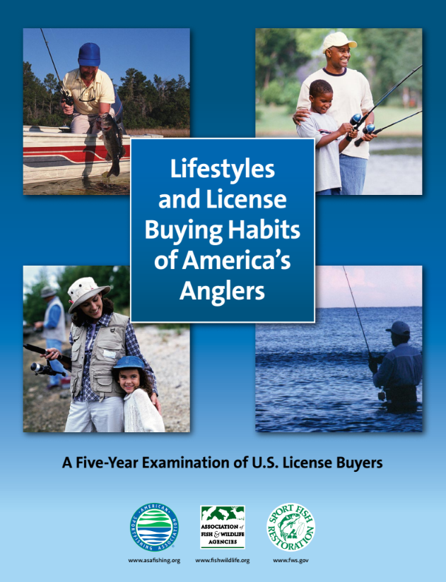 National & Regional Report: AFWA-ASA Fishing License Analysis Technical Report 2007