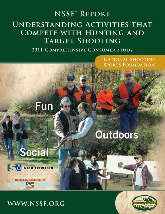Activities that Compete with Hunting and Target Shooting