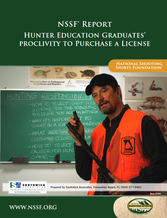 Lower-Than-Expected Rates of Hunting Among Recent Hunter Ed Graduates