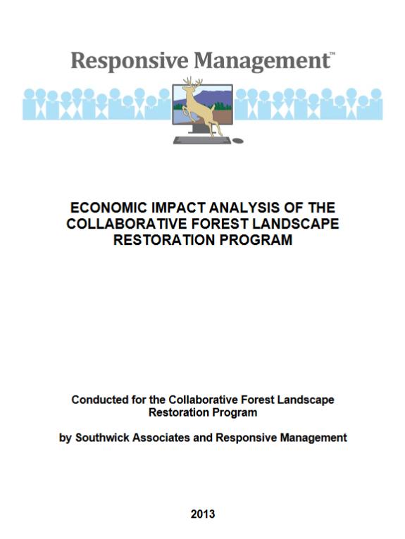 CFLRP Economic Impact Report