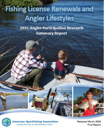 Fishing License Renewals and Angler Lifestyles