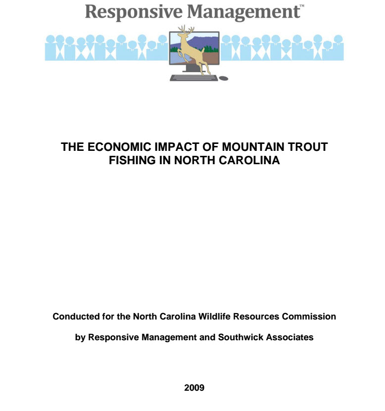The Economics of Mountain Trout Fishing in North Carolina