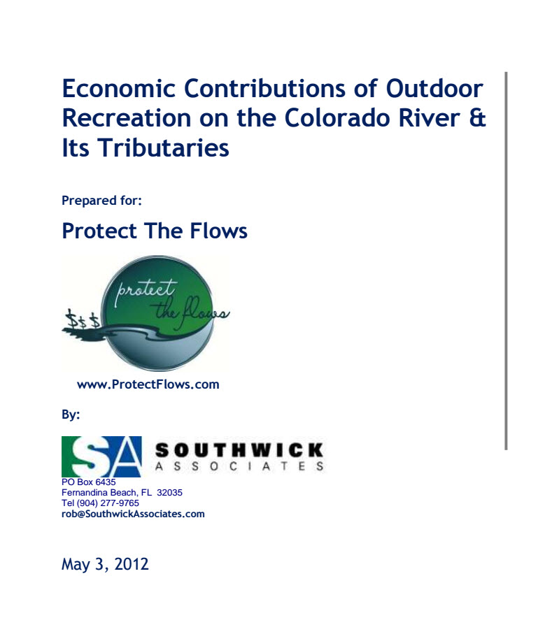 Economic Contributions Of Outdoor Recreation On The