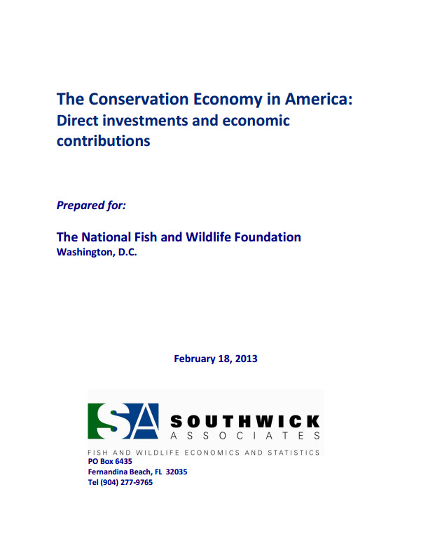 NFWF Conservation Economy Report