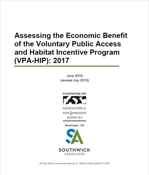Benefits of the Voluntary Public Access & Habitat Incentive Program